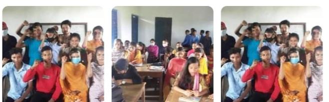 दाङमा अखिल (क्रान्तिकारी) को संगठन बिस्तार अभियान